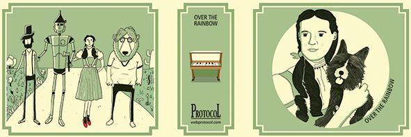 MANIVELA MUSICAL LLIBRET OVER THE RAINBOW - 1533