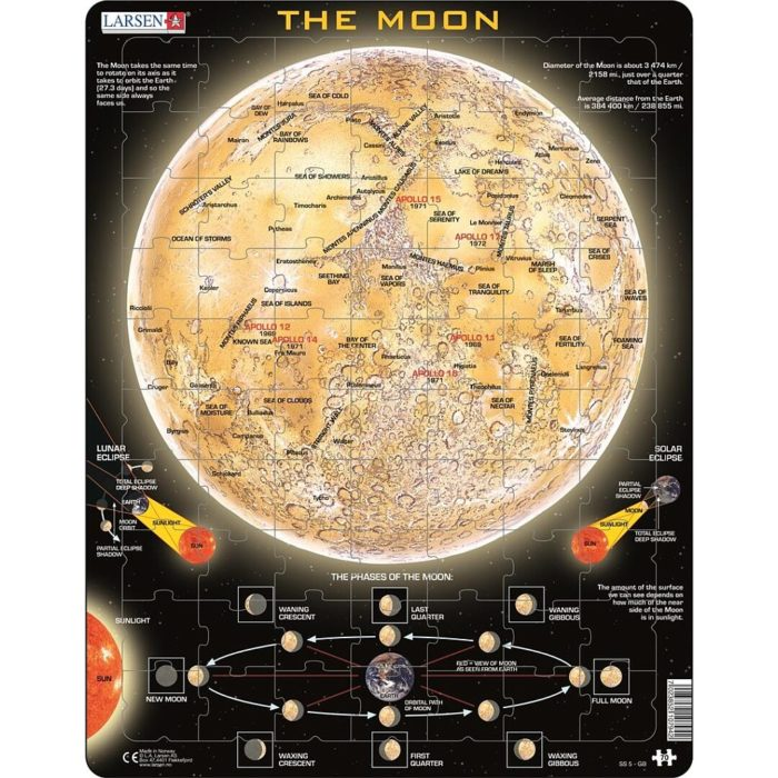 PUZZLE THE MOON