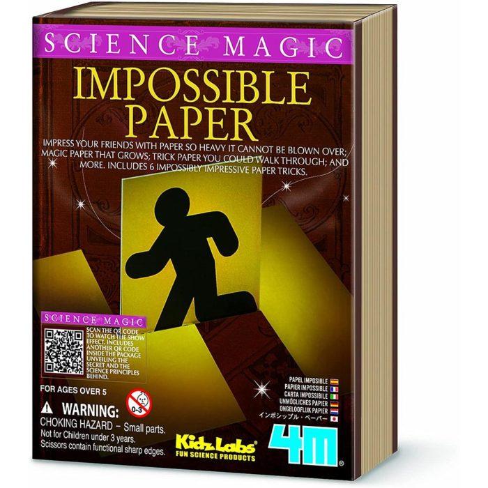 MINI SCIENCE MAGIC IMPOSIBLE PAPER