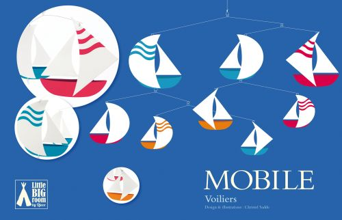 MÒBIL VAIXELLS VOILIERS