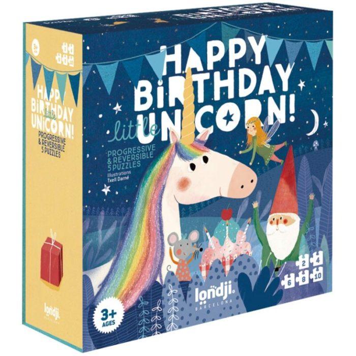PUZZLE HAPPY BIRTHDAY UNICORN