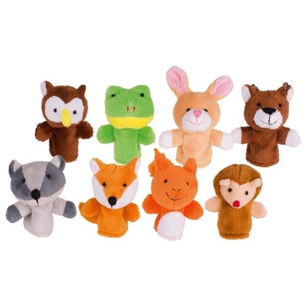 TITELLES DE DIT 8 ANIMALS DEL BOSC
